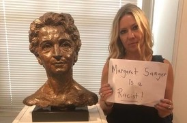 Statue of the founder of Planned Parenthood, Margaret Sanger 'must fall'