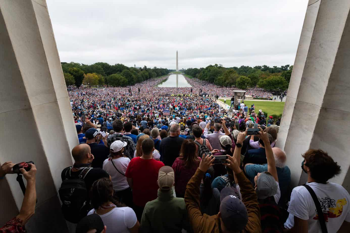 'Let God Arise, His Enemies be Scattered' – Watch Prayer March 2020 direct from DC