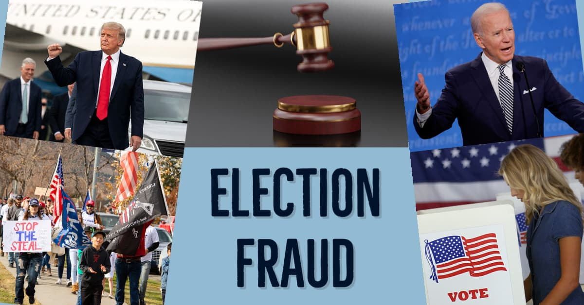 Election Fraud – 'It's stunning, heartbreaking and infuriating' says top US lawyer