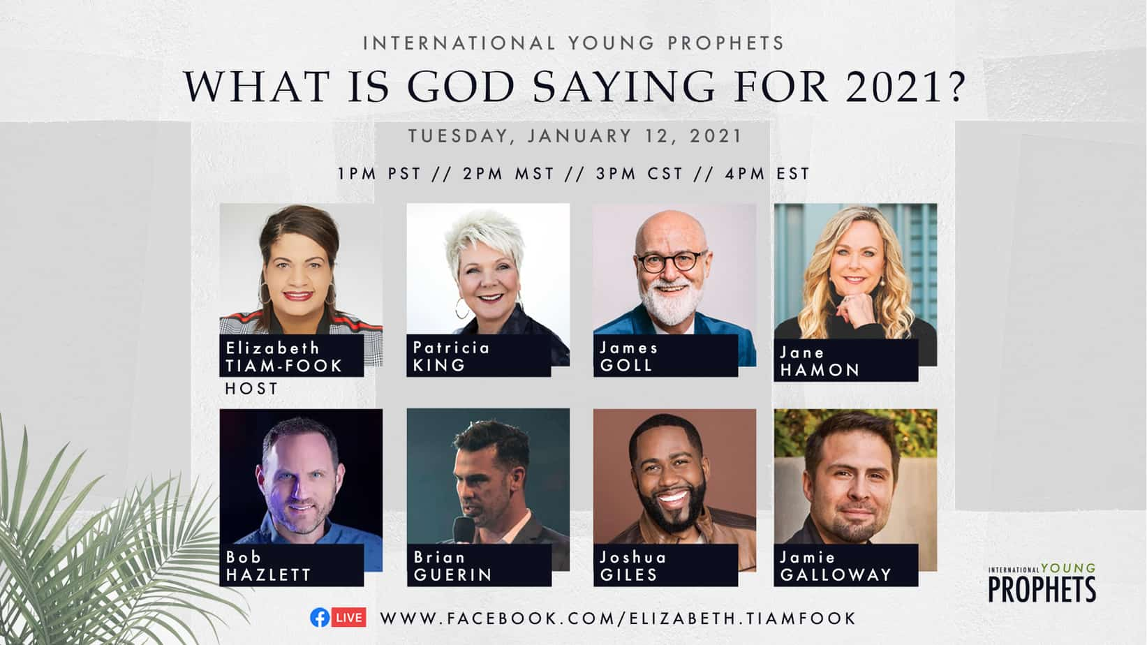 What the Prophets Are Saying About 2021