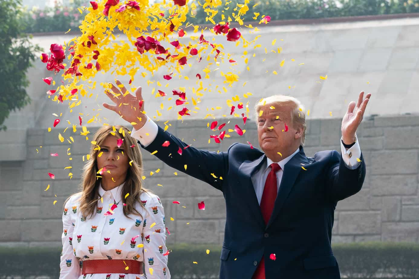 Donald and Melania Trump launch new website