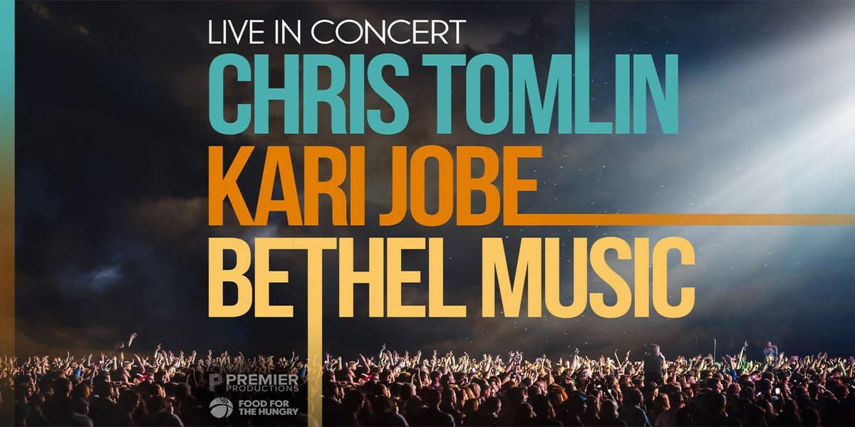 Mega Tour with Chris Tomlin, Kari Jobe & Bethel Music offers opportunity to worship again in person