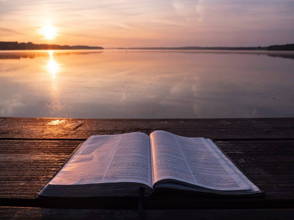 bible and anxiety
