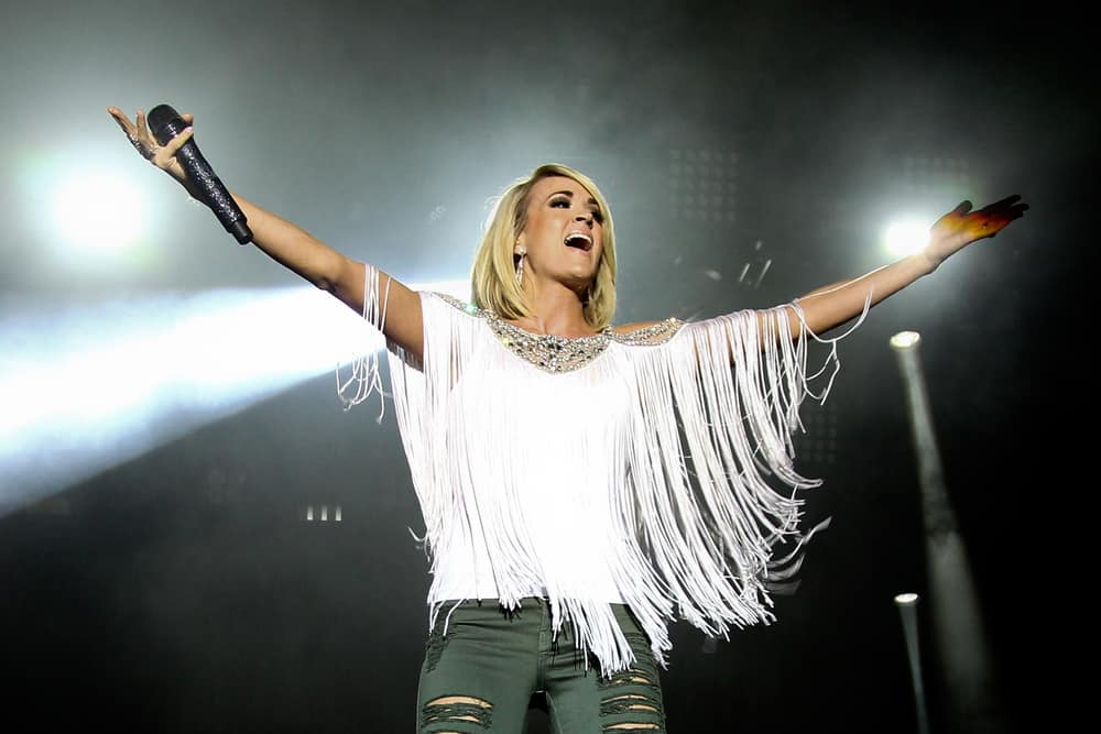 Carrie Underwood dazzles at the Ryman singing best-loved Christian songs